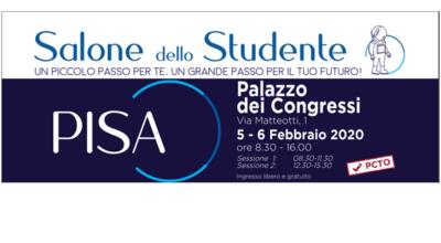 SALONE DELLO STUDENTE DI PISA – 5 e 6 FEBBRAIO 2020