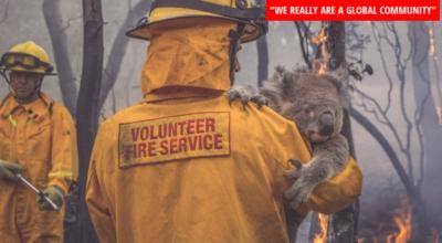 Una mano all'Australia incendiata, la colletta degli studenti spezzini