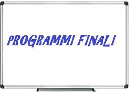 Programmi finali a.s. 2020-21